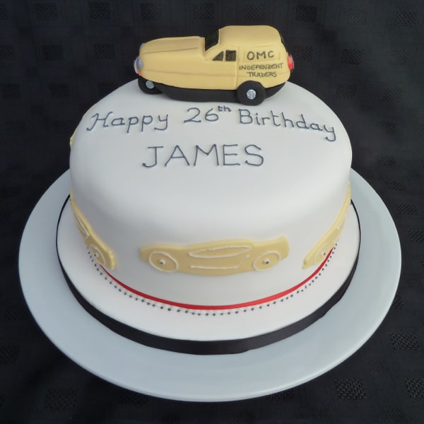 Independent trader 3 wheeler cake