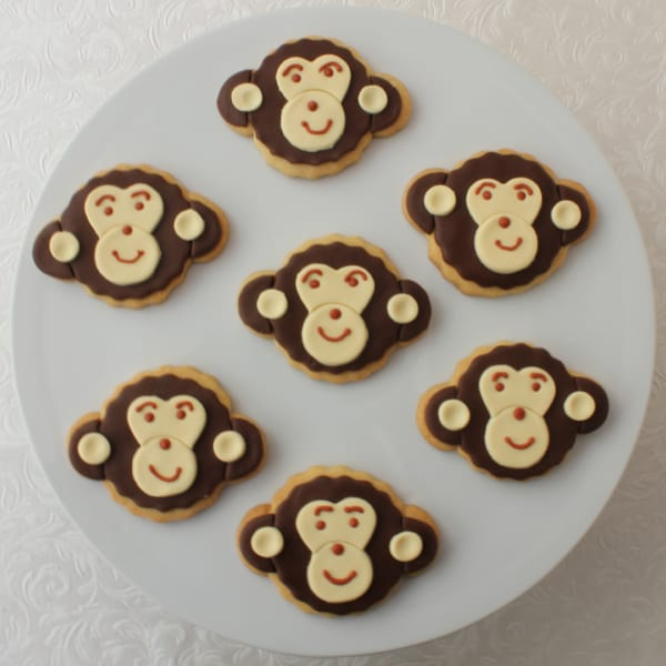 Chimp cookies