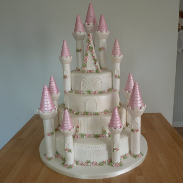 Princess Castle Stair Wedding Cake Kit Cakes Cakesbykit