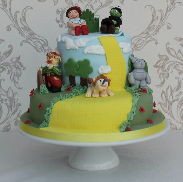 Wizard of Oz baby cake