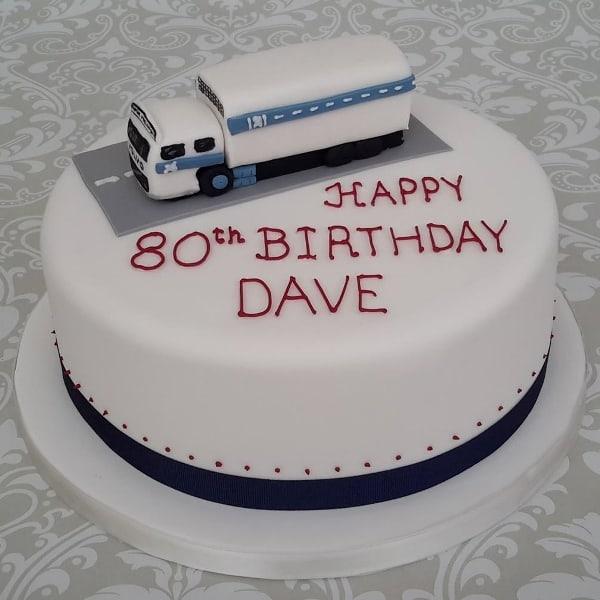 HGV on a cake