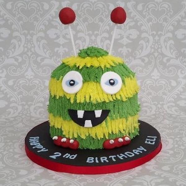 Fun monster cake