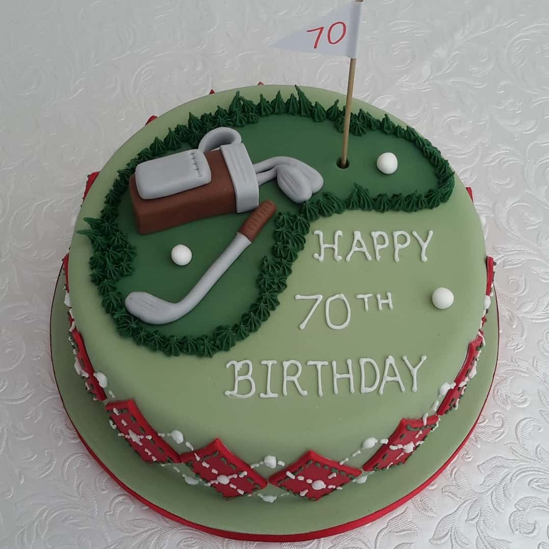 Golf 70th Birthday