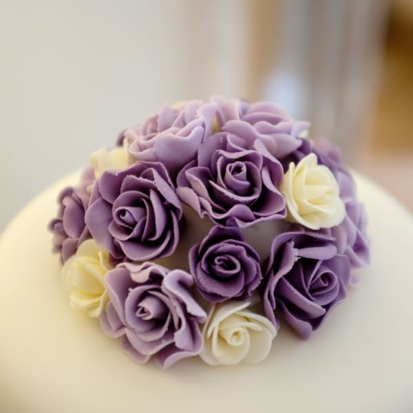 Rose posy cake topper (SSV photography)