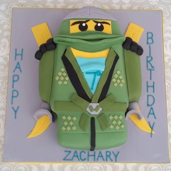 lego warrior cake