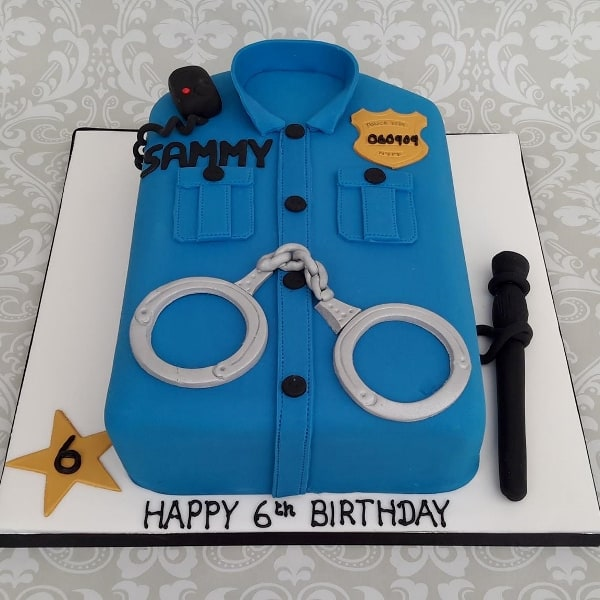 Policeman Cake Design : Police Cake Designs Pictures to Pin on Pinterest - PinsDaddy