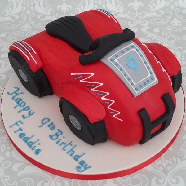 quad bike cake