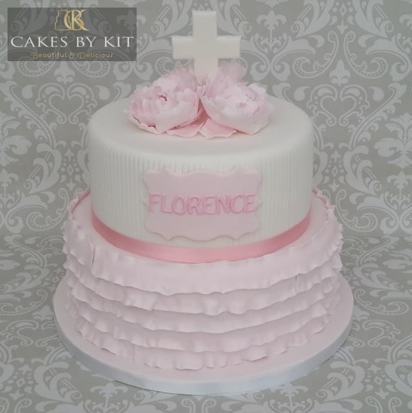 Christening Cake for Elodie