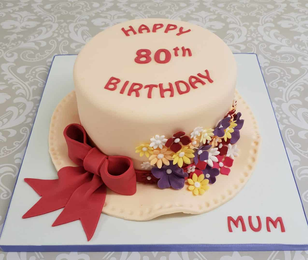 Hobby details on 60th Birthday cake