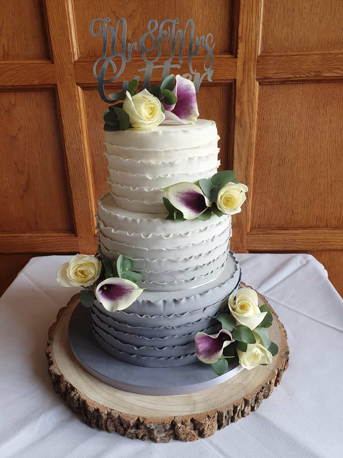 Bluebell 4 tier cake